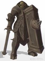 Heavy Armor Orc by Brett-Neufeld