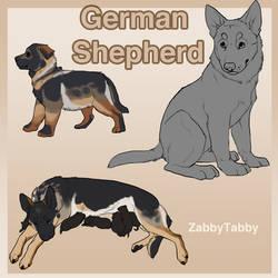 German Shepherd Puppy Lines! by WagginKennelClub