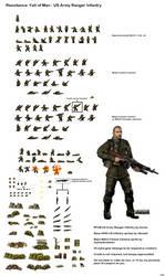 Sprite Sheet - RFoM US Rangers by Kenisi