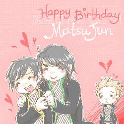 Happy Birthday MatsuJun :D by demidemi
