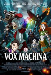 Critical Role's Vox Machina by Raphael2054