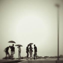 talking umbrellas by JoannaRzeznikowska