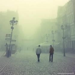 foggy city III by JoannaRzeznikowska