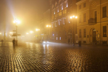 feel the night, feel the mist XIII by JoannaRzeznikowska
