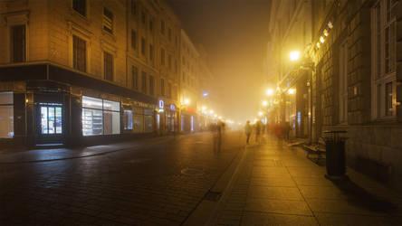 feel the night, feel the mist XVII by JoannaRzeznikowska