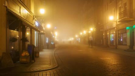 feel the night, feel the mist XVIII by JoannaRzeznikowska