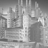 Rascacielos medievales by Juniae