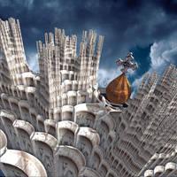 Gaudi in Heaven by Juniae