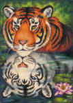 Reflections-Tiger Totem Card by stephanielynn