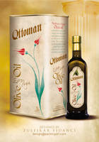 Ottoman Oliveoil Packaging by byZED