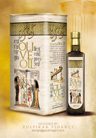 Isis Oliveoil Packaging Desig by byZED