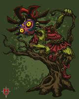 Skull Kid'd by Masebreaker