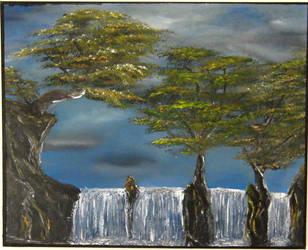 Waterfall 2 by mateuszteodorowicz