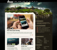 My blog : Le Blog de Gruny v2 by GrunySo