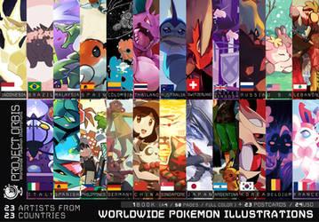 Project ORBIS -Worldwide Pokemon illustrations- by new-ja