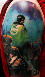 the who album cover tattoo by Remistattoo