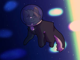 spacecat!!! by bip-201