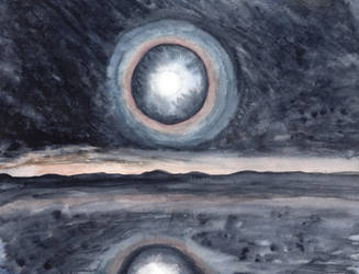 Moon Halo by HaleyGottardo