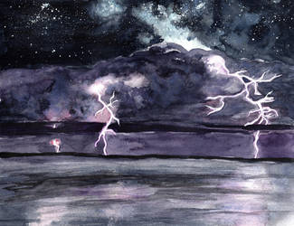 Storm Under the Stars by HaleyGottardo
