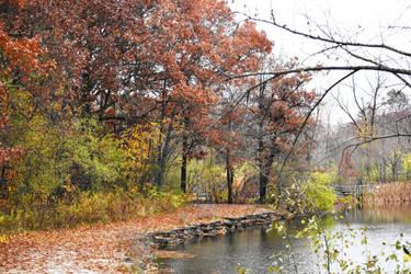 Herrick Lake in Early November 2 by HaleyGottardo