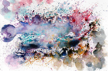 Colorful Watercolor Abstract Splatter reduced by HaleyGottardo