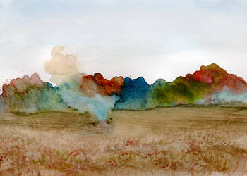Autumn Prairie Smoke by HaleyGottardo