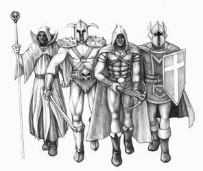 Hexen Heroes by NeoWorm