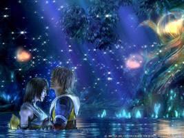 Tidus and Luna by HollyheartsBOTDF