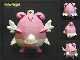 Pokemon Papercraft - Blissey by PaperBuff