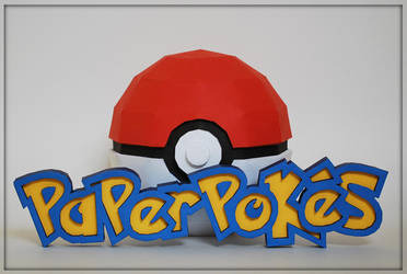 Paperpokes Papercraft Logo by PaperBuff