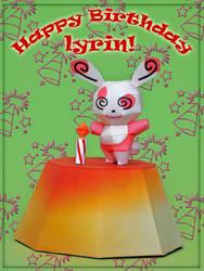 Happy Birthday, Lyrin by PaperBuff