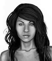 Miss Fox - WIP by ravens-raziel