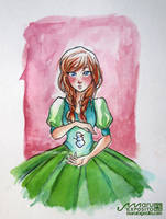 Frozen Anna (Arendelle princess) by MaruExposito