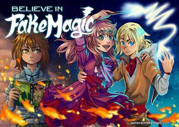 Believe in Fake Magic - WEBCOMIC by MaruExposito