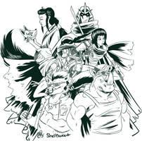 Foot Clan by Shellsweet