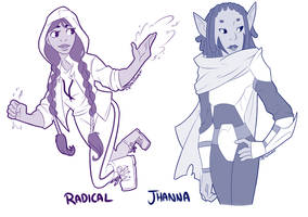 Radical and Jhanna by Shellsweet