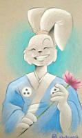 Samurai bunbun by Shellsweet