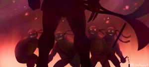 The Shredder Strikes by Shellsweet