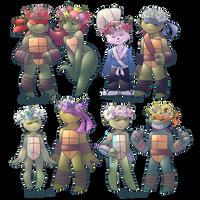 Flower Crown Gang by Shellsweet