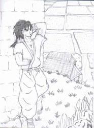Mutsu Takato -Sketch by AuroraDarknet