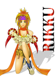 Rikku Time by AuroraDarknet