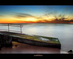 Trig Beach Ramp Sunset by Furiousxr
