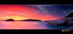 Thistle Cove Sunrise by Furiousxr