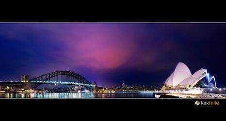 Sydney Harbour by Furiousxr