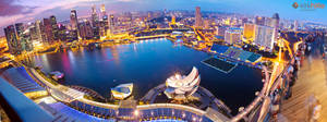 Marina Sands View of Singapore by Furiousxr