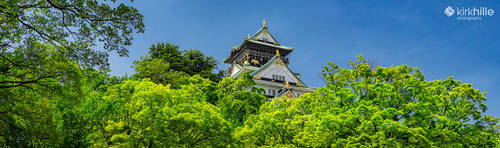 Osaka Castle - Japan by Furiousxr