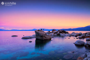 Sunrise Lake Tahoe by Furiousxr