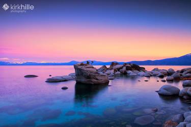 Sunrise Lake Tahoe by Furiousxr