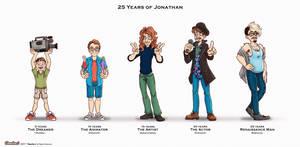 25 Years of Jonathan by FilmmakerJ