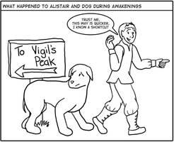 Awakenings: Alistair and dog? by sqbr